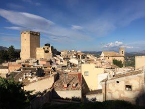 Castillo de Moratalla, un icono de la comarca del Noroeste