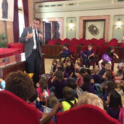 Visitas escolares en el Ayuntamiento