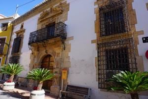 Ricote está marcado por numerosos palacios y monumentos espectaculares dentro de su casco histórico